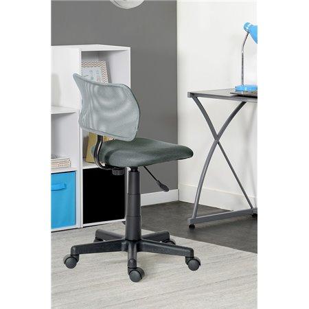 Chaise Bureau gris