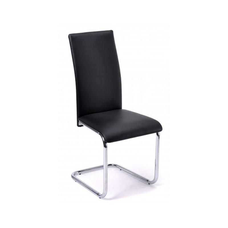 Lot 6 Chaises Moderne Noir