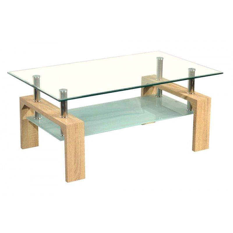 Table Basse Moderne Chene