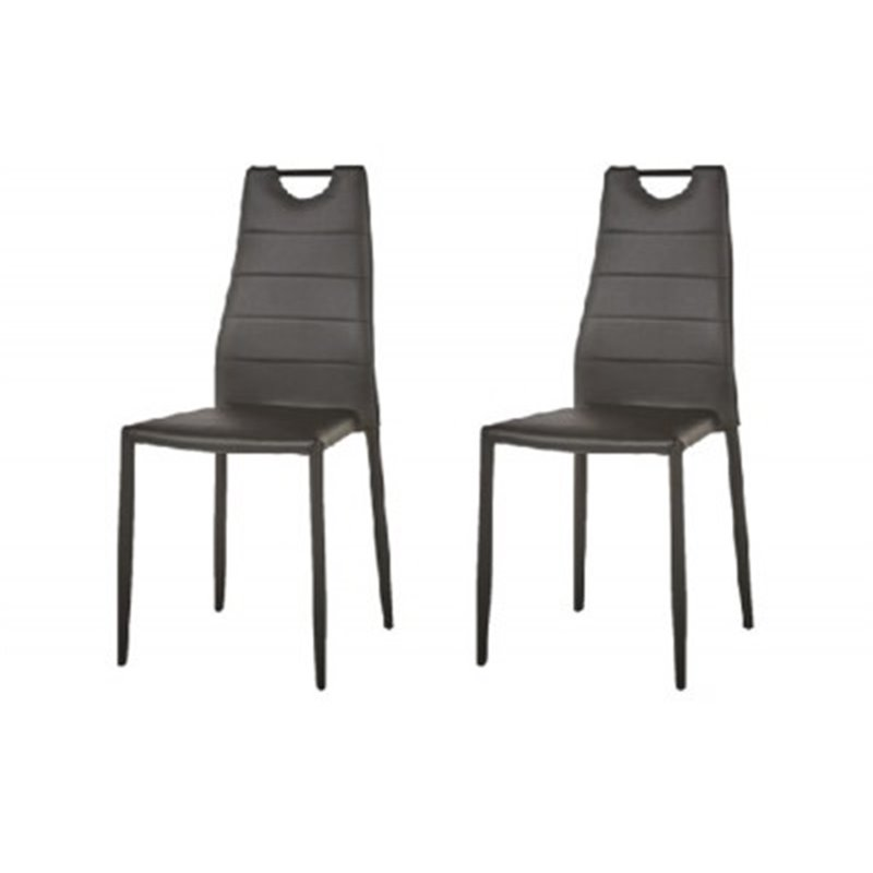 Lot 6 Chaises Moderne Empilable