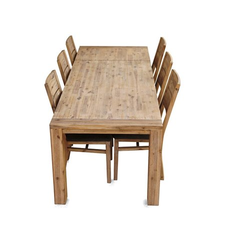 Table +Allonge Bois Naturel