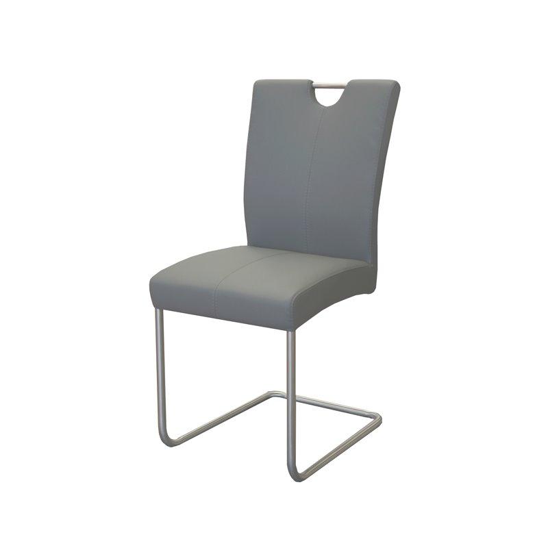 Lot 6 Chaises Design Gris