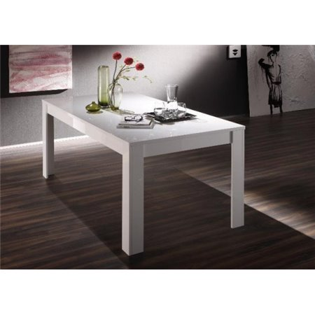 Table Laquée Blanc