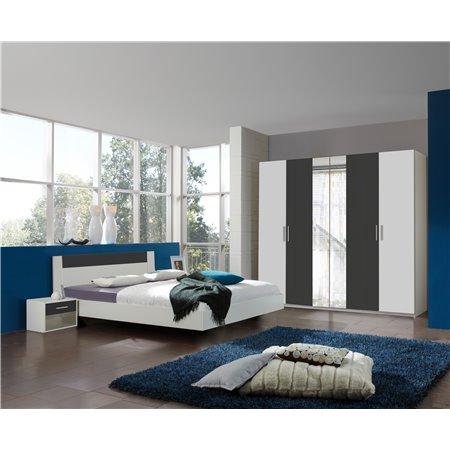 Chambre Moderne Gris